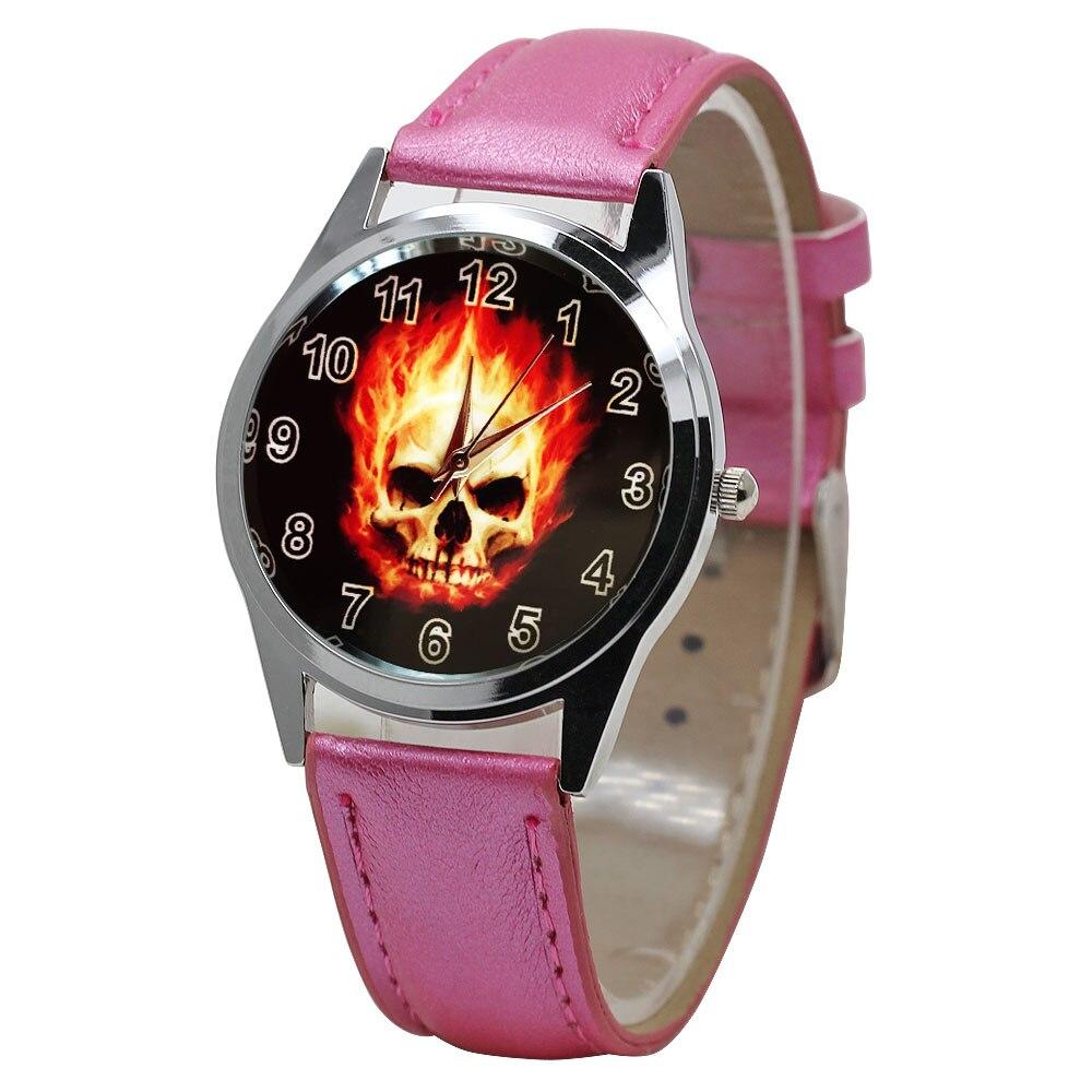 Hot Sale Cool Cartoon Taro Child Watch 5 Color Leather Quartz Boy Love Watch Girl Sports Clock Birthday Children Gift  Relogio