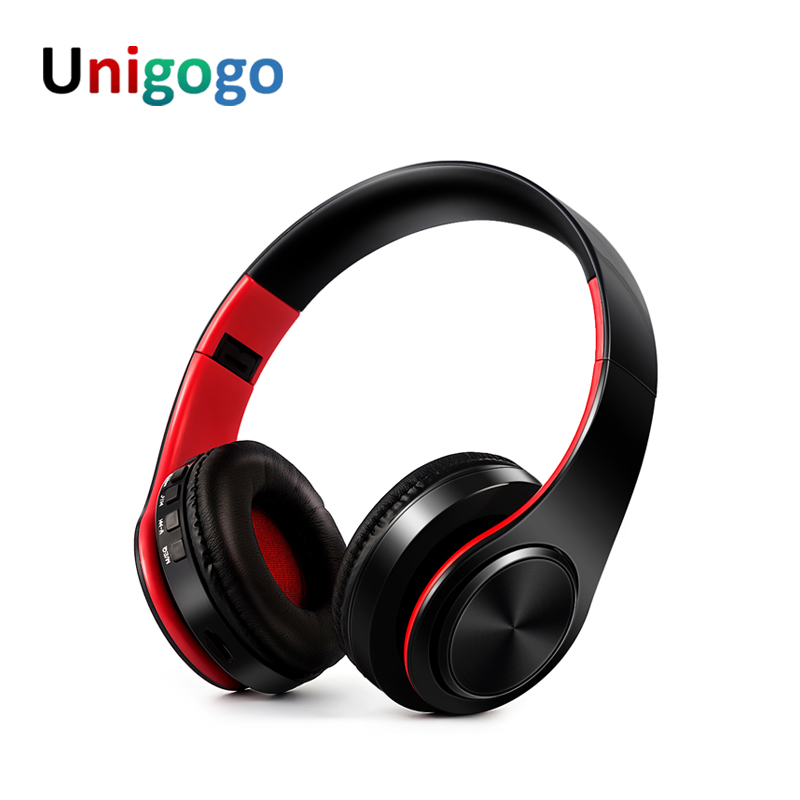 New Arrival colorful Wireless Bass Bluetooth Headphones foldable Headset handsfree Blutooth Headfone with Mic For phone computer