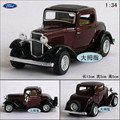 1:34 1pc 12.5cm delicacy Kinsmart mini FORD 1932 classical bubble car alloy model decoration boy children baby toy Gift