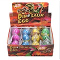 Colorful 12pcs/set Water Hatch-Grow Dinosaur Eggs Novelty Toys Cracks Grow Egg Educational Toys For Baby Children