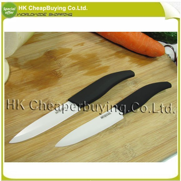 Free Shipping Bestlead  3'' Zirconia Handle Paring Knife Peeling Knife Fruit Kinfe Ceramic Knives ,#SKU0286