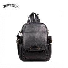 Famous brands top quality dermis women bag Fashion leisure travel women shoulder bag Leather backpack laptop bag