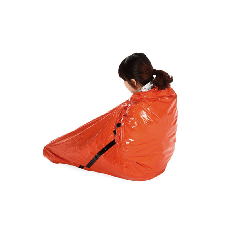 Sac de couchage d\u0027urgence Orange Camping Outdoor Survival Tarp - sac shelter