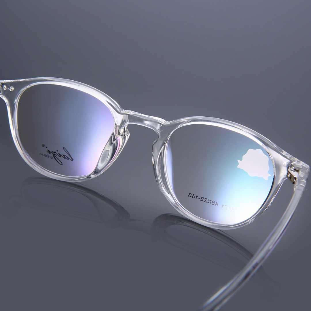 Mayitr 1 قطعة ريترو للجنسين النظارات البصرية إطار عالية الجودة TR90 واضح شفاف كامل حافة إطارات النظارات