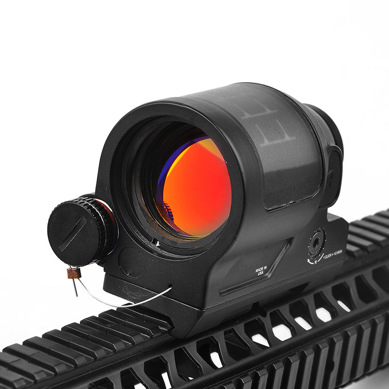 SRS Solar Power Red Dot Sight 1X38 Collimator Sight Reflex Sight Scope With QD Mount Optics Rifle Scope Hunting aim o red dot tactical hunting sight scope srs reflex 1x38 iron optics riflescope for airgun ao3040