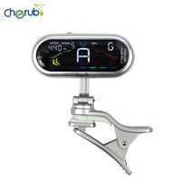 Cherub WST 900A Clip On Clip On Tuner With Chromatic Guitar Bass Violin Ukulele Woodwind Instruments