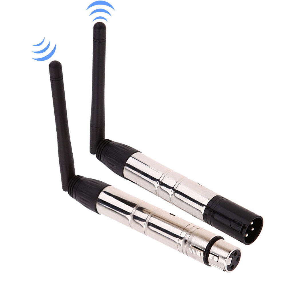 Image 5 - Lixada 2.4G Ism Dmx 512 Wireless Male Xlr Transmitter Stage Light Par Party Light Antenna Transmitter Wireless Dmx Receiver-in Stage Lighting Effect from Lights & Lighting on