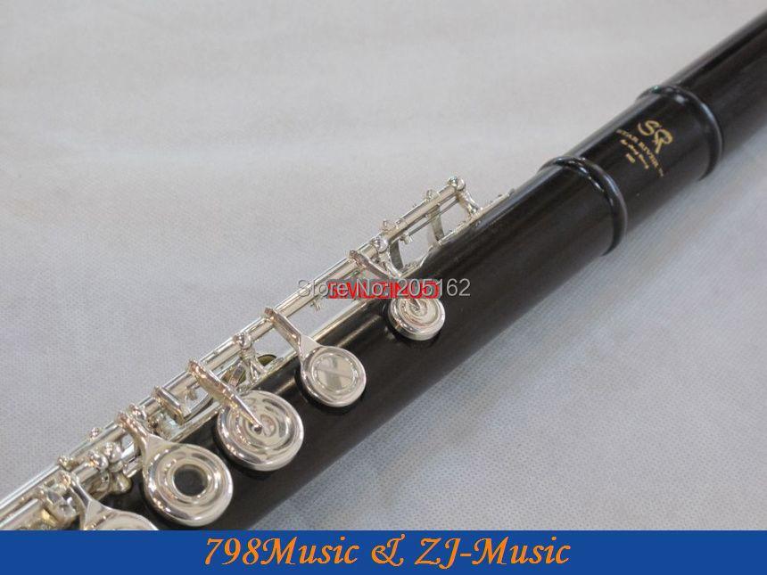 Flauta de granadilla africana Blackwood profesional-Pie B-Agujero - Instrumentos musicales - foto 5