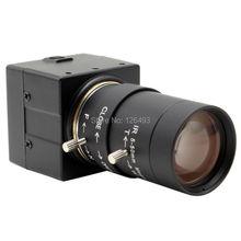 CCTV 5-50mm Varifocal lens 1/2.7″ CMOS OV2710 High resolution UVC Mini USB Webcam Camera for Video Conference