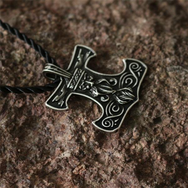 10pcs Wholesale Slavic God Pendant Norse Thors Hammer Norse