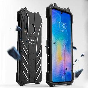 Image 1 - עבור Huawei P30 פרו מקרה R JUST יוקרה אלומיניום מתכת מקרה עבור Huawei P30 פרו Huawei P30 לייט טלפון כיסוי Coque