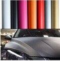 1.27*4 M venta Caliente 3D Carbon Fiber Coche Del Vinilo de Envolver Papel de Aluminio, Decoración Etiqueta Engomada Del Coche, Vehículo de Cambio la Película de Color