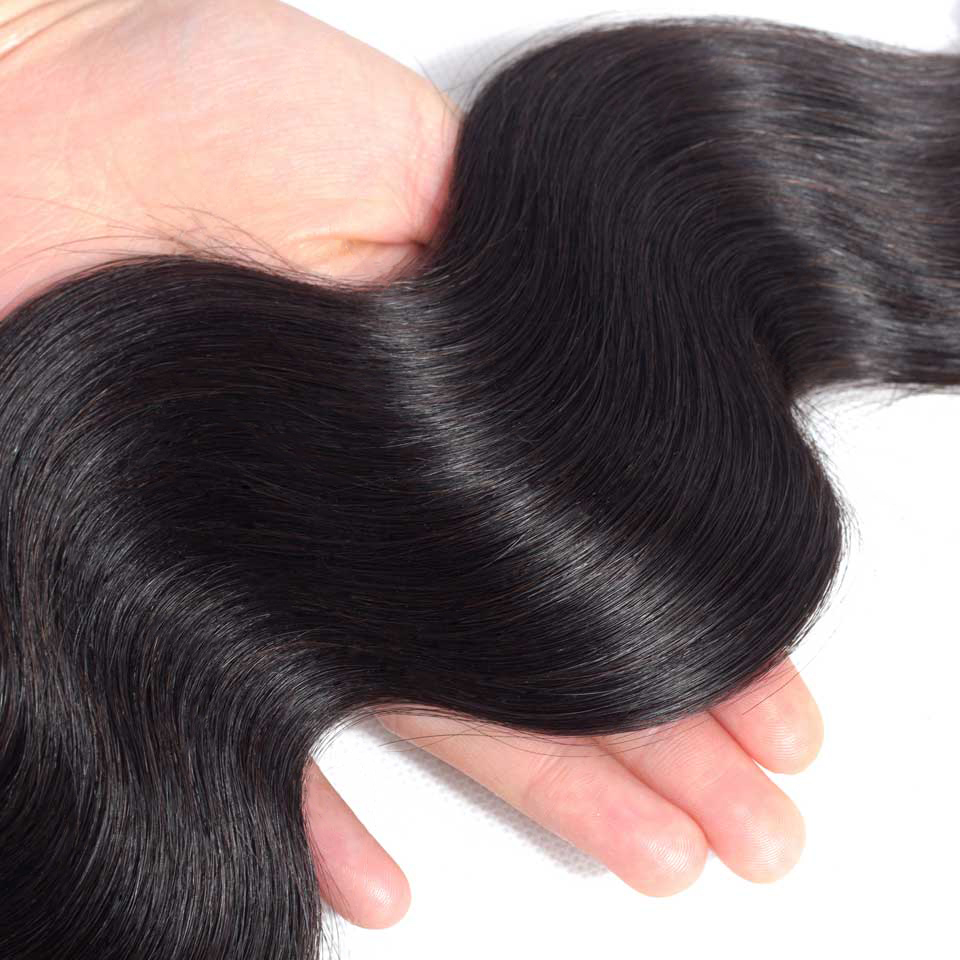 Yyong Hair Body Wave Bundles With Closure  Hair  Bundles With Closure  Bundles With Closure 4*4 4