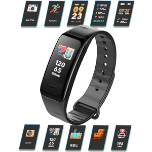 Image 2 - 健康ブレスレット心拍数モニター血圧測定スマートバンドフィットネストラッカーリストバンド iphone xiaomi pk fitbits