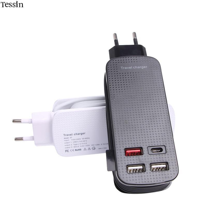 INGMAYA USB-Reiseladegerät mit mehreren Anschlüssen 50 W Qualcomm - Handy-Zubehör und Ersatzteile