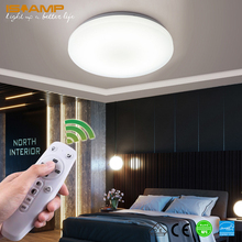 ISRAMP Surface Mounted LED Ceiling Lights Modern Lamp Ceiling Lighting Living Room Lights Led Ceiling Light For Bathroom modern ceiling lights star ceiling lamp for living room kitchen restaurant luminaria surface mounted light fixtures led lamp