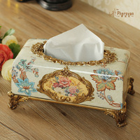 Furong Shengshi European retro box resin paper boxes jewelry ornaments decorated wedding celebration