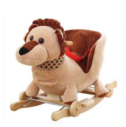 plush animal rocking chairs hunting swivel chair big baby swing horse toy bouncer seat child bumper kid ride on fun stroller in bouncers jumpers swings
