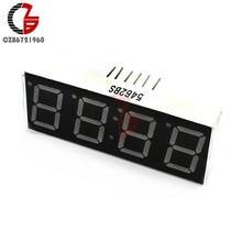 "0.56 ""4 Digit Super Red Led Display Common Anode Met Tijdweergave 12 Pins(China)"