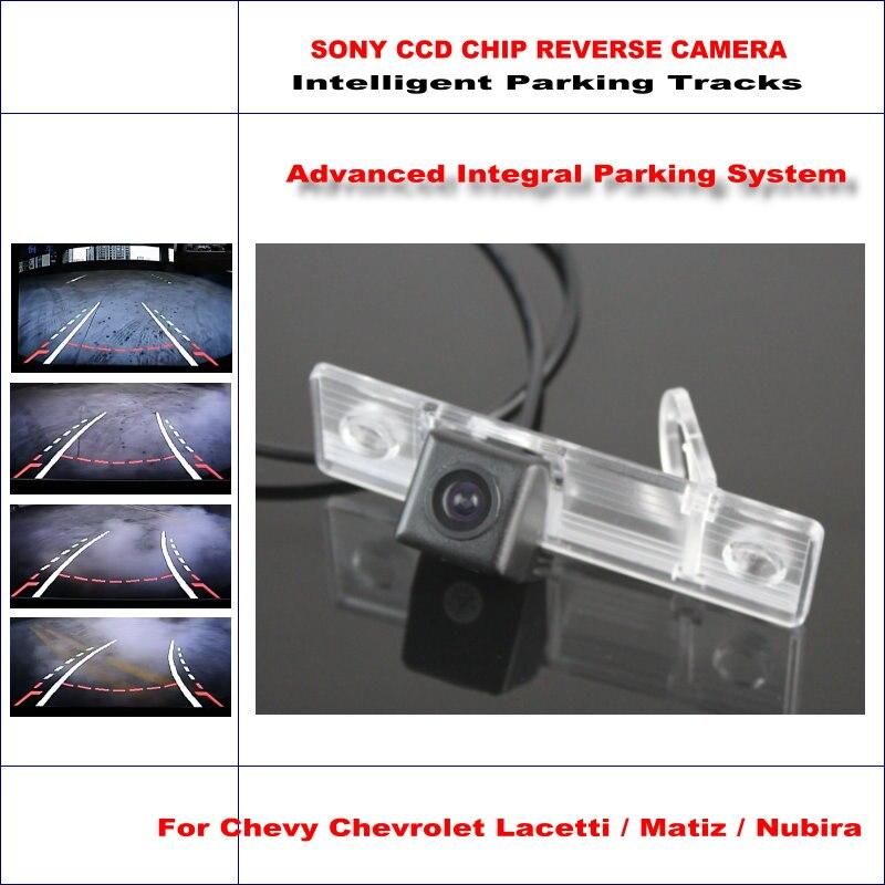 Caméra arrière intelligente de haute qualité pour Chevrolet Lacetti/Matiz/Nubira NTSC PAL RCA AUX HD SONY CCD 580 lignes TV