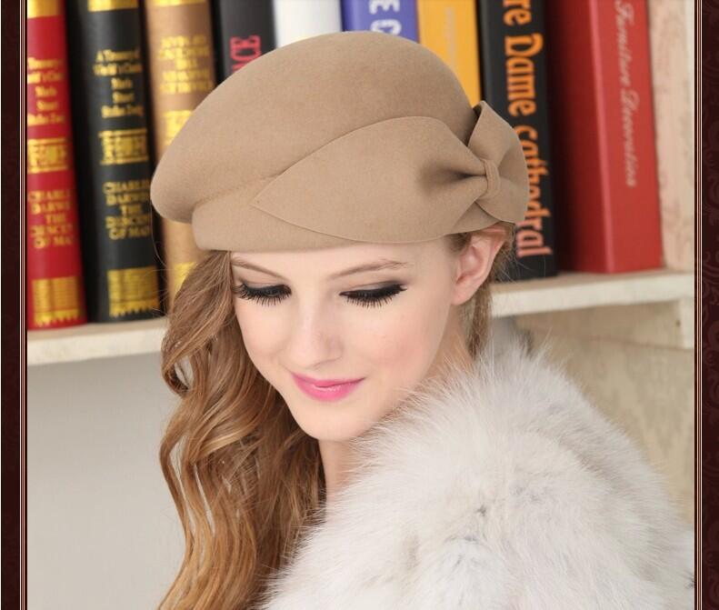 Usted tiene que asegurarse sobre que antes de comprar un OZyc 100% lana de  Invierno de Lana Caliente de La Vendimia de Las Mujeres de La Boina  Francesa ... 2d3ed563d62