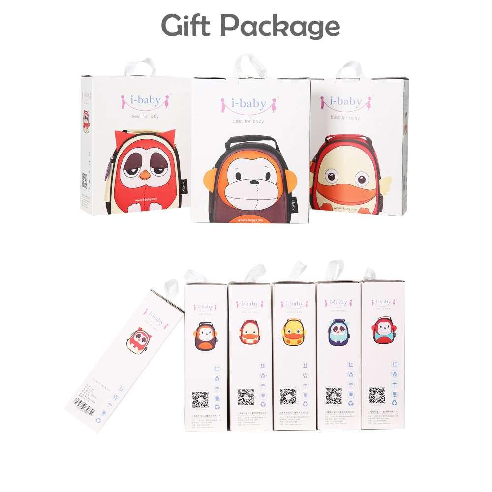 Купить с кэшбэком i-baby 3D Animal Design Harnesses Baby Kids Leash Toddler Waterproof Backpack with Safe Harness, Ages 1+, Owl, 2 colors