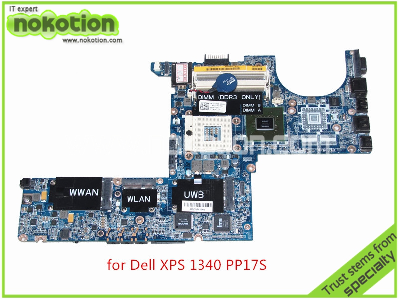 DA0IM3MBAG0 REV G CN-0K172D K172D For dell XPS 1340 PP17S laptop motherboard Nvidia graphics DDR3 Mainboard