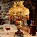 Украшение стола лампа моды старинные смолы tablelamps для спальни гостиной W30cm * H49cm роскошный прикроватный освещение украшения