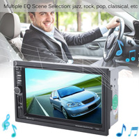 7 Inch Touch Screen Car Bluetooth Audio Stereo MP5 Player With Rearview Camera GPS Navigation FM