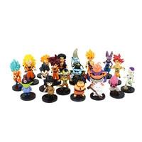 20 видов стилей Dragon Ball Z ПВХ Фигурки игрушки Сумасшедший вечерние Dragonball DBZ коллекция фигурок из ПВХ Куклы