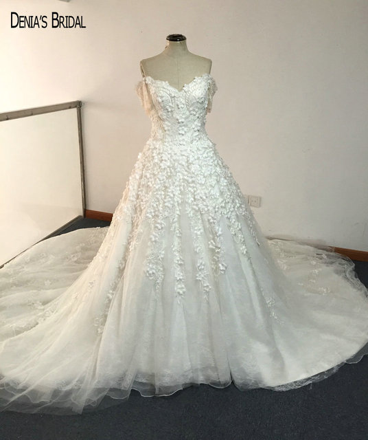 Aliexpress Com Buy 2017 Ball Gown Elegant Wedding Dresses With