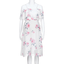 ФОТО women maternity dress ruffles printed elegant summer nice and cool comfortable new listing casual dress pregnant dress