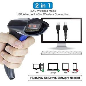 Image 4 - QR バーコードスキャナ有線自動 USB 1D 2D バーコードイメージャ用スタンドとモバイル決済サポート PDF417 、データマトリックス NT W9