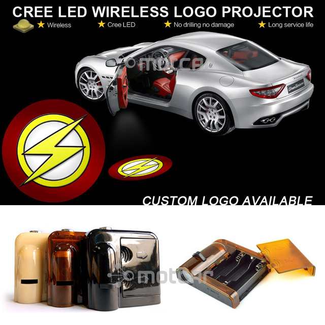 X Car Door Welcome Ghost Shadow Puddle Spotlight Laser Projector - Car sign with namesonline get cheap d led sign aliexpresscom alibaba group