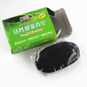 Soap 2019 New active energy bamboo Tourmali soap For ance Face & Body Beauty Healthy Care soap 0 shipping fee Soap