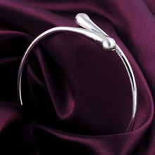 Classic Silver Plated Fashion Double Round Bracelet Jewelry