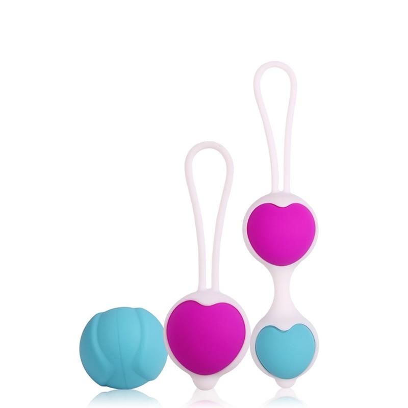 4 шт. Регулируемая влагалище Упражнения Кегеля шары силиконовые Ben wa Balls вагины гибкие коллокации Love Ball эротические Игрушечные лошадки