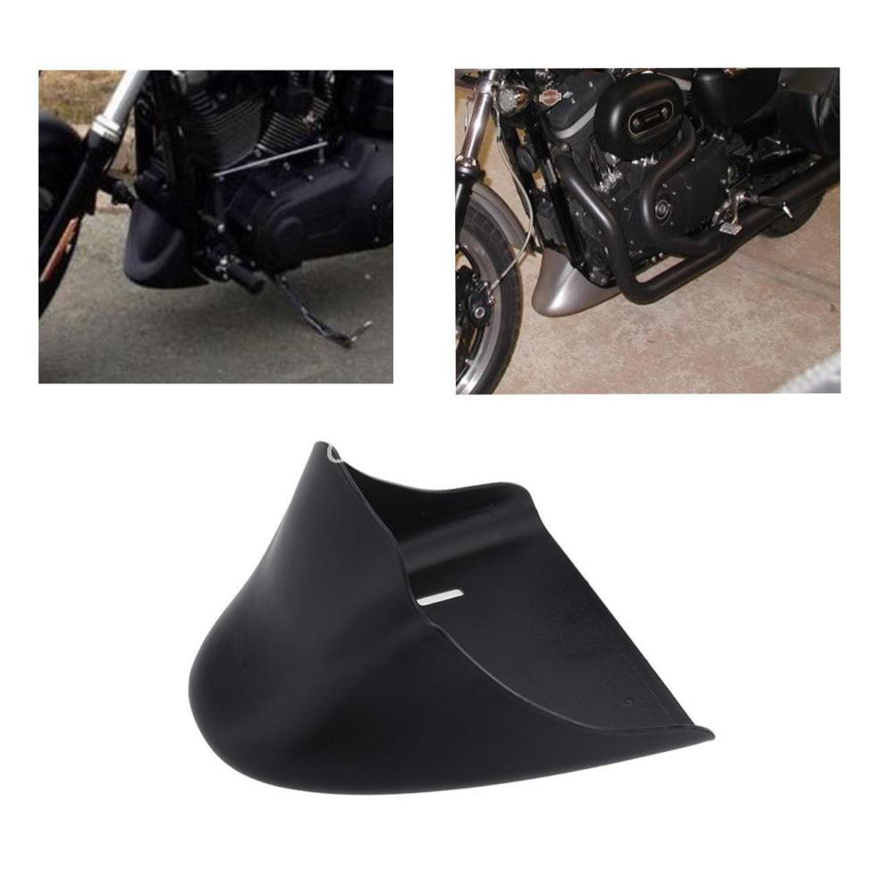 Матовый черный подбородок обтекатель передний спойлер для Harley Спортстер 883 1200 2004-2014 Девидсон ХL