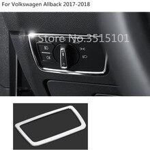 Автомобиль палку крышка спереди глава туман выключатель света отделки рамка для Фольксваген Passat B8 седан вариант модель 2015 2016 2017 2018