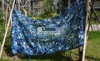 10 м * 10 м синий камуфляж сетки джунгли камуфляжная сеть для портативный автомобильный навес пляж жилья тематическая вечеринка украшения бал