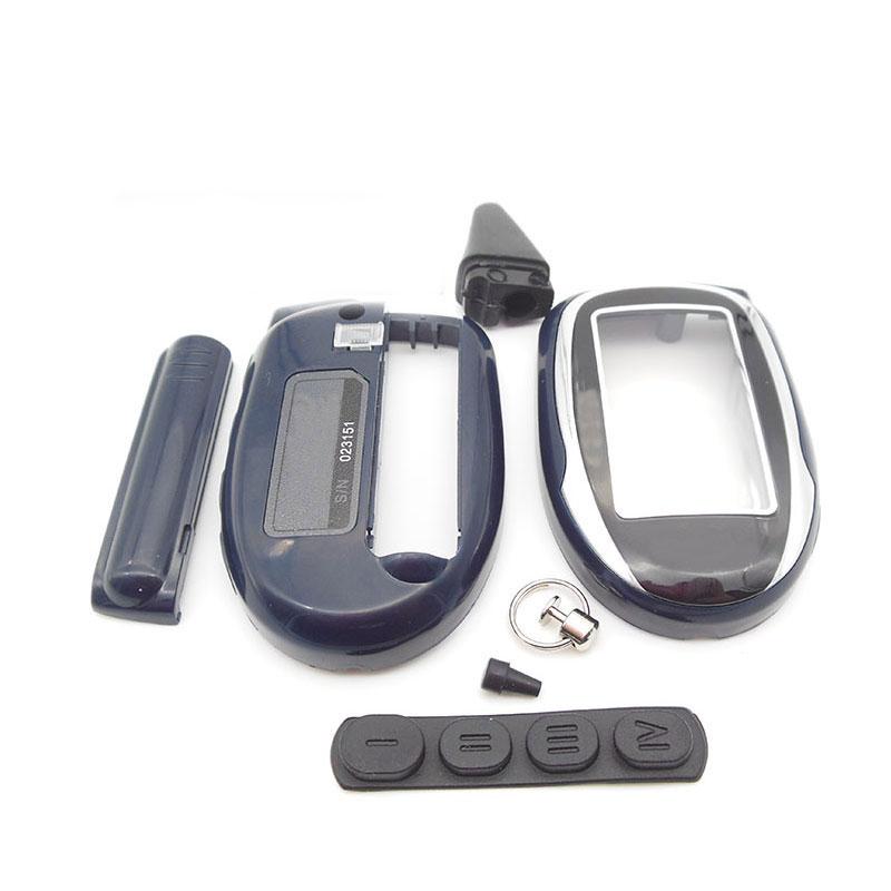 M7 Keychain Case For Scher-khan Magicar 7 8 9 10 11 12 Scher Khan M8 M9 M10 M11 M12 Two Way Car Alarm System LCD Remote Control