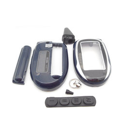 Étui pour porte-clés M7 mcher-khan Magicar | 7 8 9 10 11 12 Scher khan M8 M9 M10 M11 M12, système d'alarme de voiture deux voies, télécommande LCD