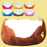 Soft Warm Dog House Colorful Pet Sleeping Bag House For Small Medium Dog Cats Pet Supplies
