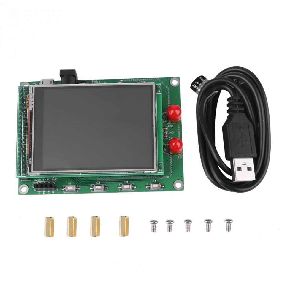 RF Sweep Signal Source Generator Board 35M to 4.4G + STM32 TFT Touch LCD tornet tr 35m 412