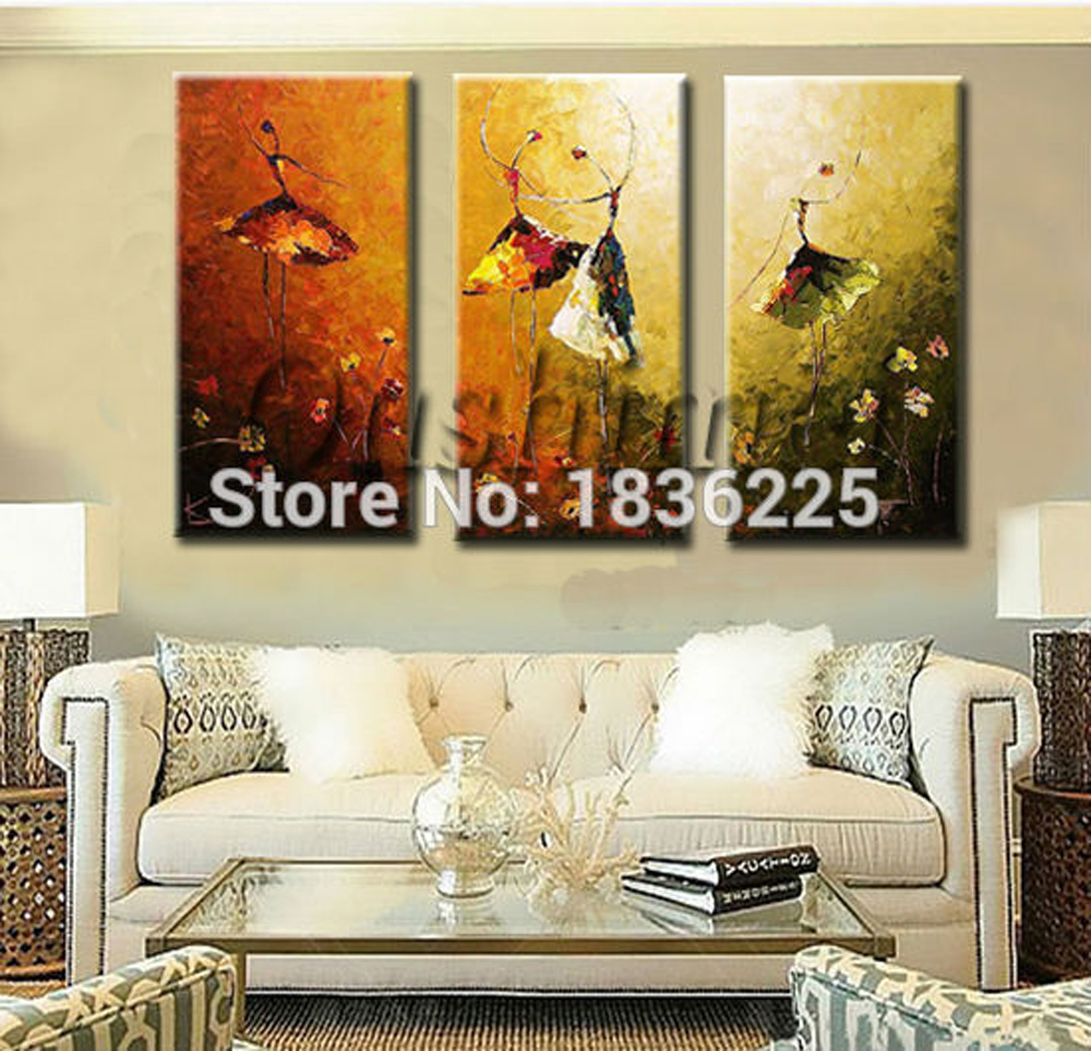 Aliexpress.com : Buy Abstract Artists Famous Dancer Girl Canvas Paintings  Bedroom Decorating Art Abstract Ballet Paintings For Living Room Kids Room  From ...