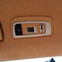 car Rear reading lights decorative car stickers dedicated interior refit for PORSCHE cayenne Panamera S 3D sticker car styling