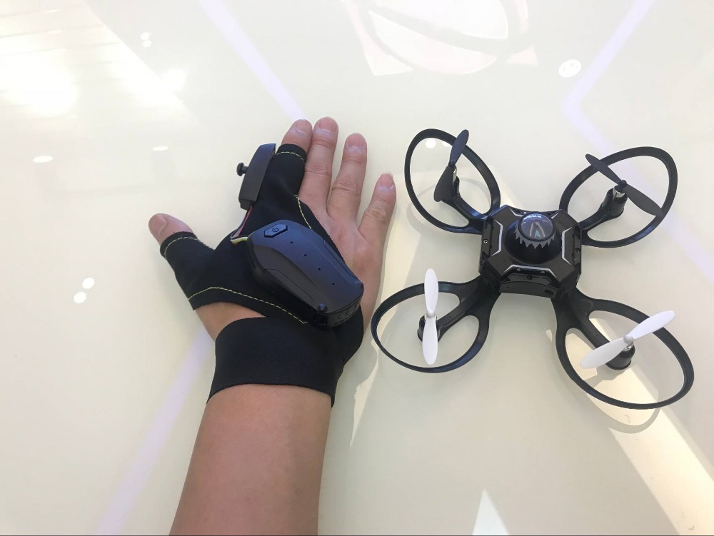 Mini Drone foldable Arm 2.4G Glove Gesture Movement Sensing Control  Drone One Key Return Gesture Roll Drone For Beginner  Gift Karachi