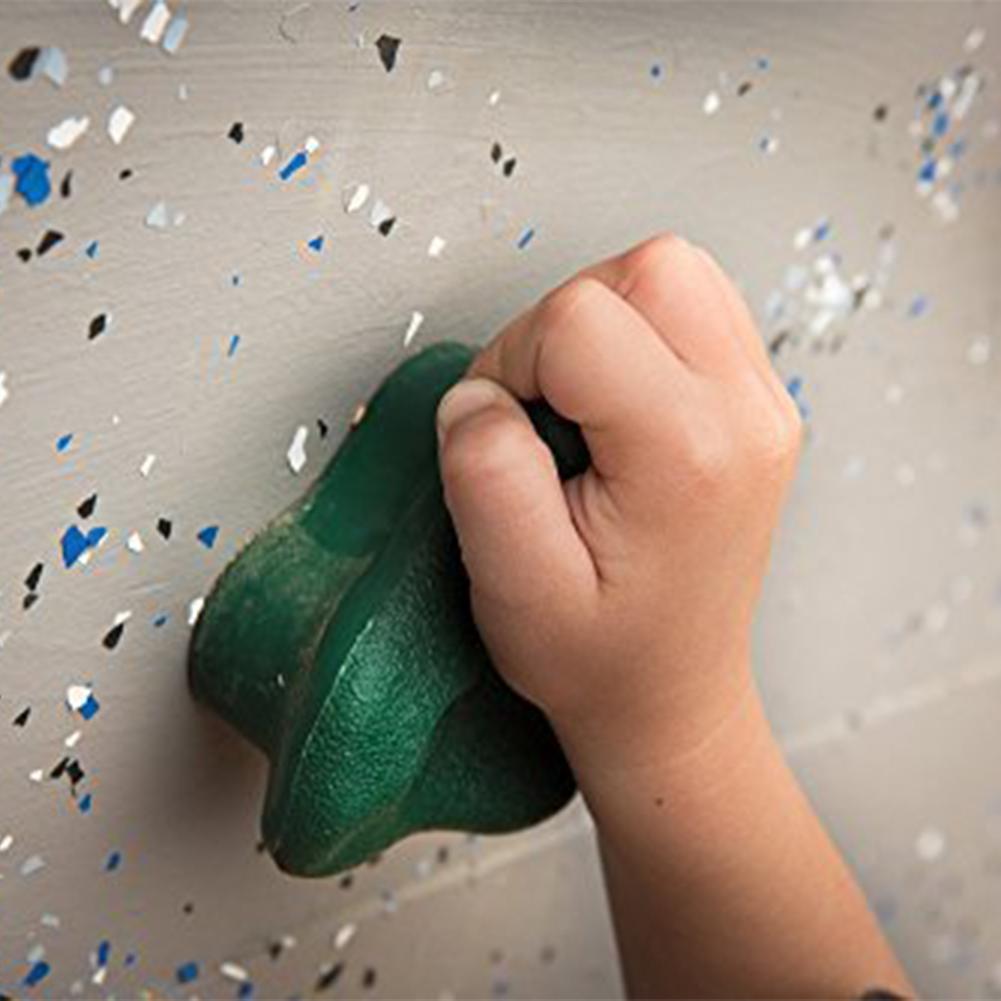 Mounchain One Kids Rock Climbing Holds Plastic Wall Set Kit Rock Stones Backyard Kids Toys  Screw Mounting Hardware