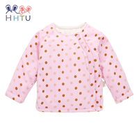 HHTU Baby Newborn Padded Jacket Grils Boys Clothing Cotton Clip Spring Autumn Long Sleeve Thickening Outerwear