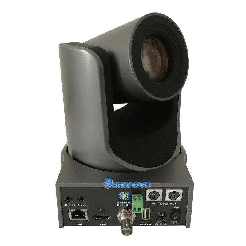 Radiodifusão com SDI, HDMI, RJ45 IP, Suporte